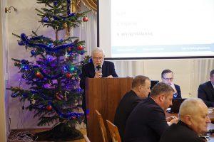 Galeria XIX sesja Rady Powiatu Leżajskiego