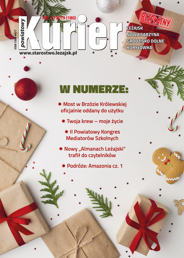 Kurier Powiatowy - Aktualny Numer NR 12/2019 (180)