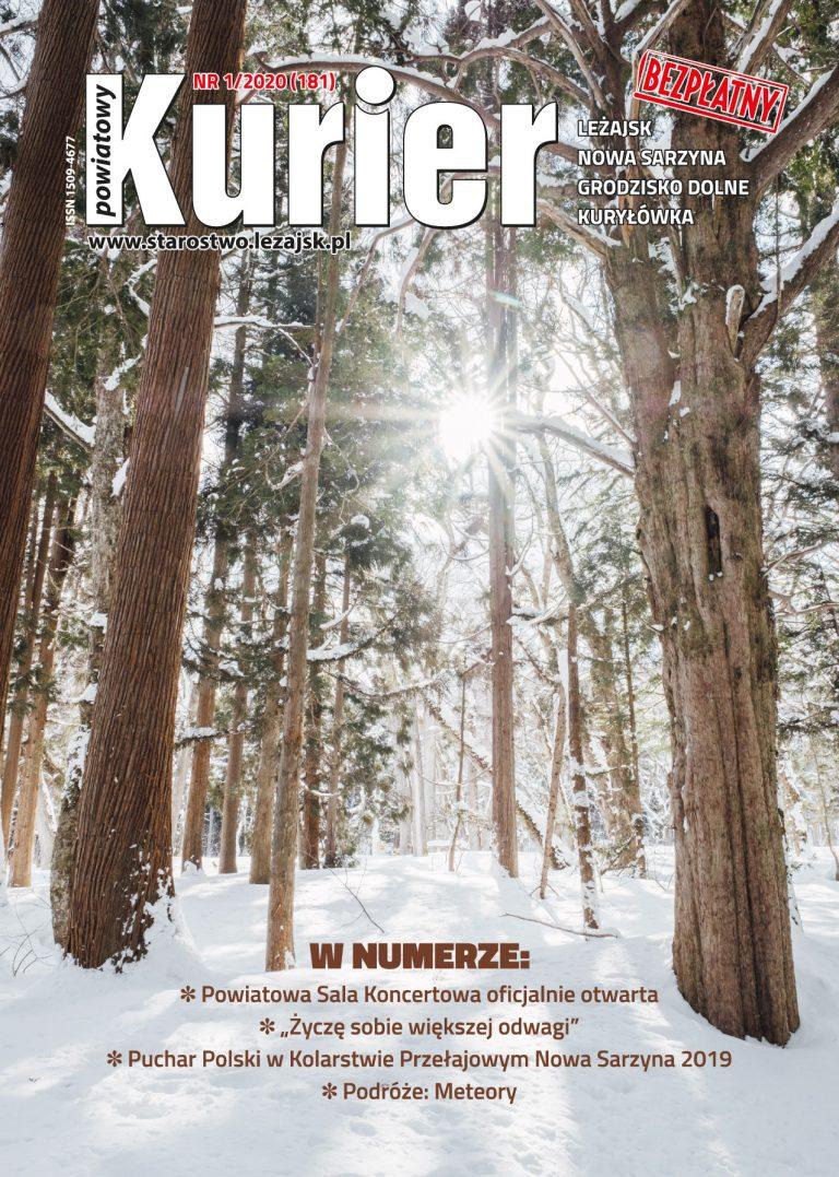 Kurier Powiatowy - Aktualny Numer NR 1/2020 (181)