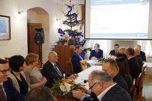 Galeria XX nadzwyczajna sesja Rady Powiatu Leżajskiego