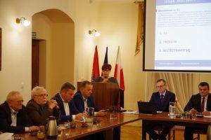 Galeria XXI sesja Rady Powiatu Leżajskiego