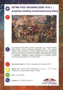 Galeria Nowe lekcje muzealne w Muzeum Ziemi Leżajskiej