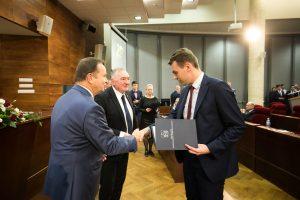 Galeria Uczeń ZST w Leżajsku reprezentuje Powiat Leżajski w Młodzieżowym Sejmiku Województwa Podkarpackiego