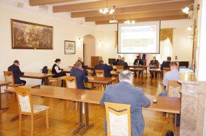 Galeria XXIV sesja nadzwyczajna Rady Powiatu Leżajskiego.