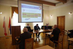 Galeria XXV nadzwyczajna sesja Rady Powiatu Leżajskiego
