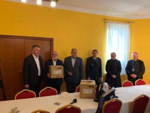 Galeria Caritas przekazał respirator dla leżajskiego szpitala