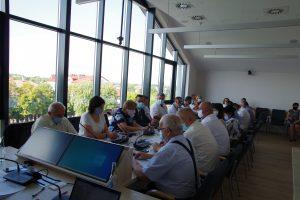 Galeria Pierwsza sesja Rady Powiatu Leżajskiego w nowej lokalizacji