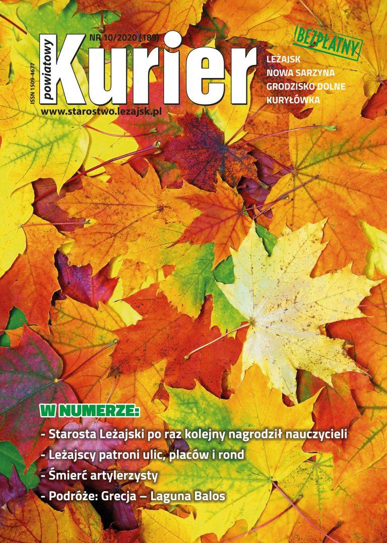 Kurier Powiatowy - Aktualny Numer 10/2020