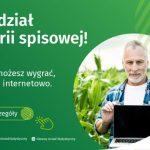 Miniatura grafiki informującej o loterii w ramach Powszechnego Spisu Rolnego
