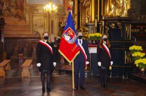 Poczet sztandarowy Powiatu Leżajskiego