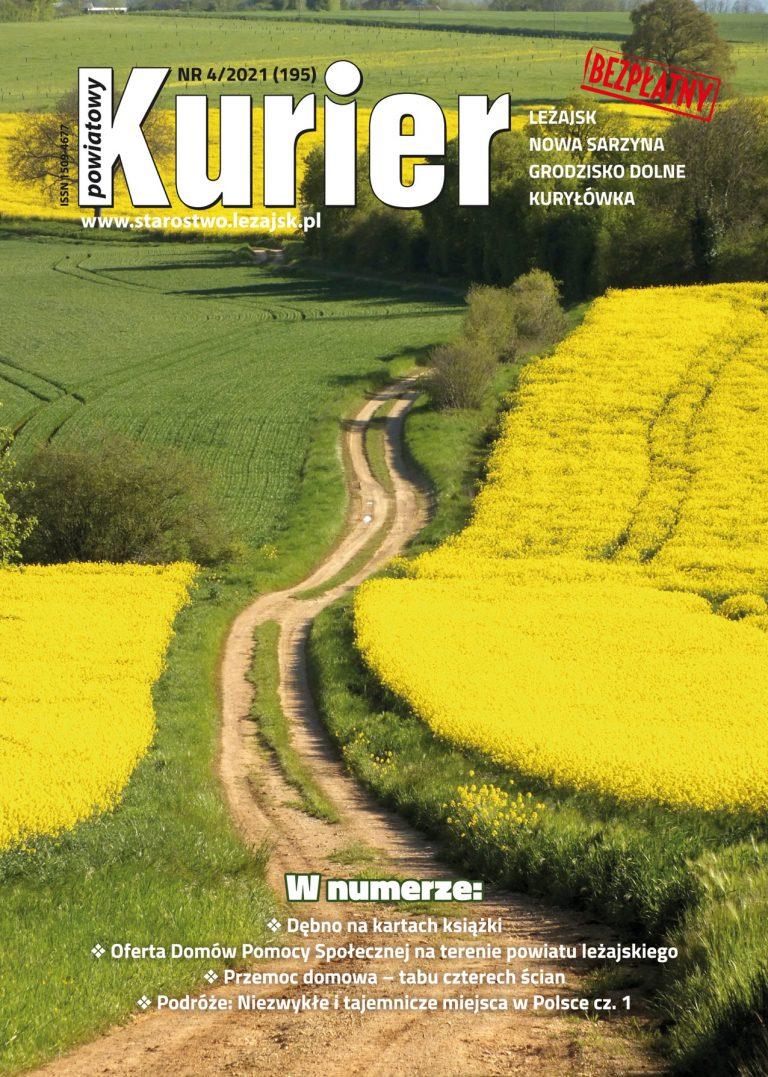 Kurier Powiatowy - Aktualny Numer 4/2021