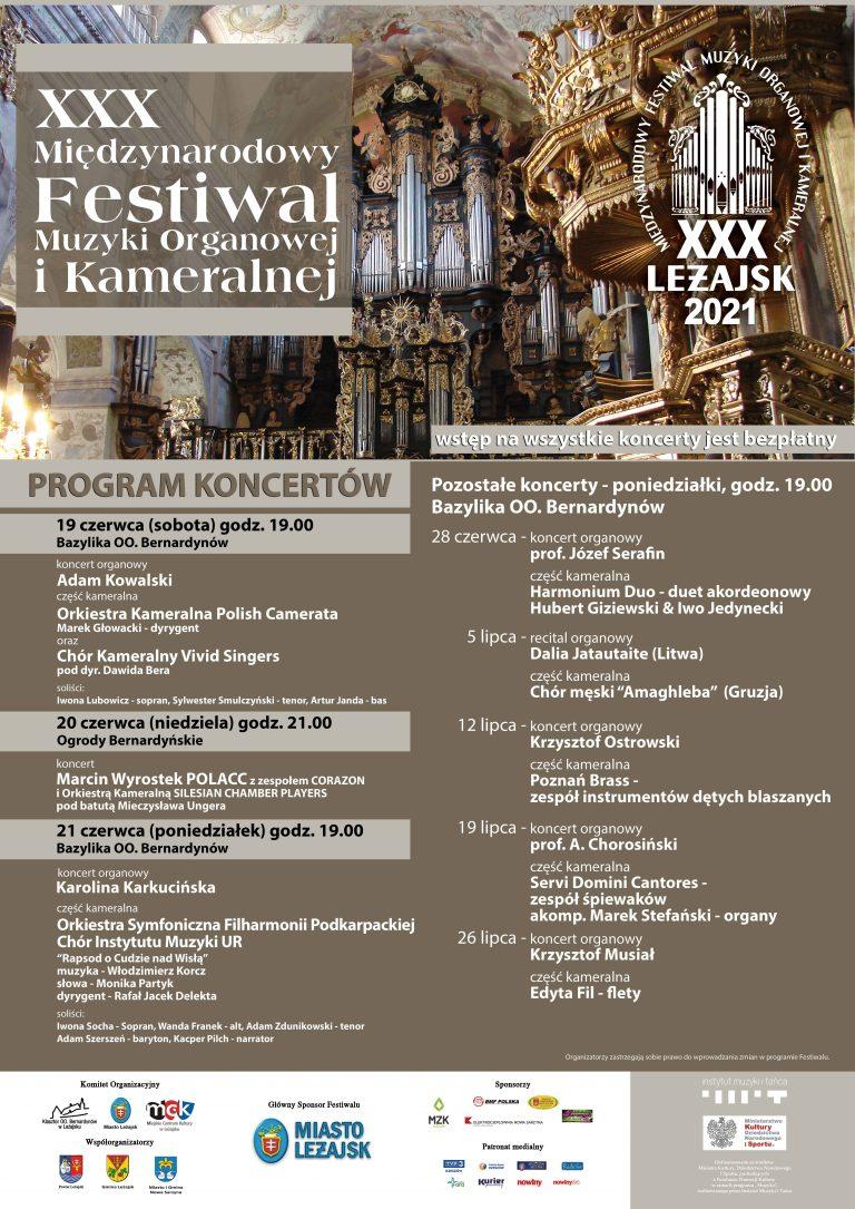 Międzynarodowy Festiwal Muzyki Organowej i Kameralnej w Leżajsku