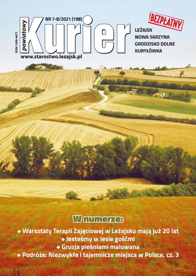Kurier Powiatowy - Aktualny Numer 7-8/2021